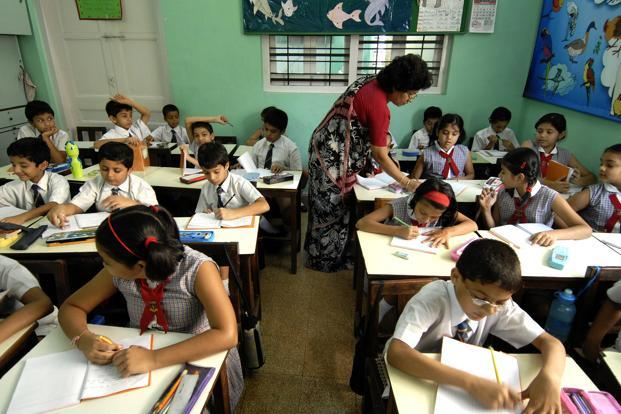 The no-fail policy entails that no children in the 6-14 age group can be held back in any class up to Class VIII. Photo: Abhijit Bhatlekar/Mint