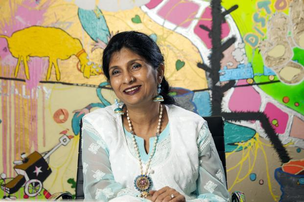 Vani Kola, co-founder and CEO of Kalaari Capital Advisors Photo:  Bloomberg