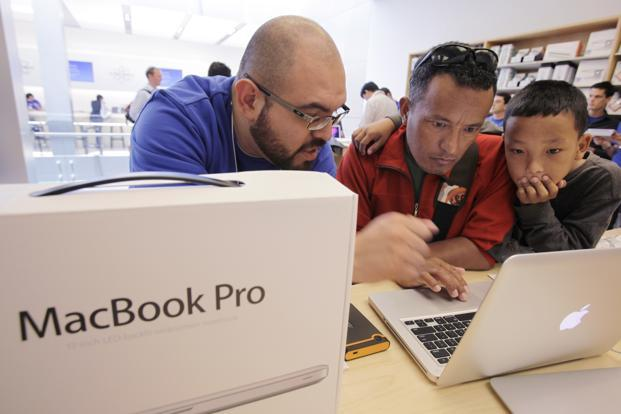 Apple's MacBook Pro has shown surprising resilience compared to the decline in iPad sales. Photo: AP