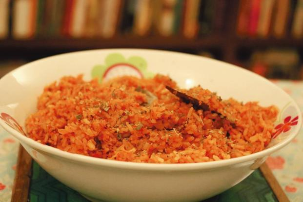 Bangalore-style Jollof Rice. Photo: Samar Halarnkar