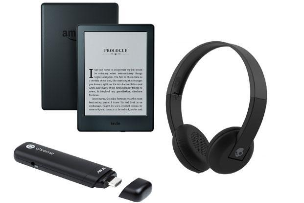 Asus Chromebit-B019C, Kindle's entry-level mode, and Skullcandy Uproar S5URHW-509 are some interesting gift options