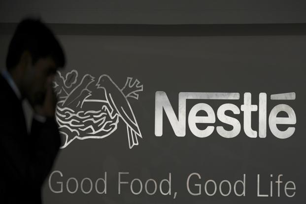 Nestle India's shares closed at Rs6,960.50, up 0.52%, on BSE on a day the benchmark Sensex ended 0.09% up at 27,941.51 points. Photo: AFP