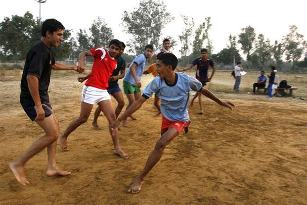 Kabaddi was once considered a rural pastime. Photo: Arun Sharma/Hindustan Times