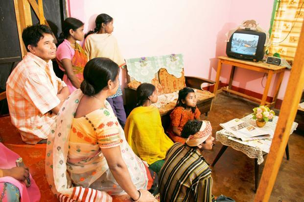 A file photo. The company has also proposed a merger of Maurya TV Pvt.  Ltd, which operates Zee Purvaiya (a regional news and current affairs channel), with Zee Media. Photo: Indranil Bhoumik/Mint