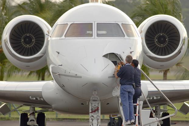The introduction of new models from manufacturers such as Gulfstream and Bombardier  in 2018 should stimulate sales. Photo: Bloomberg