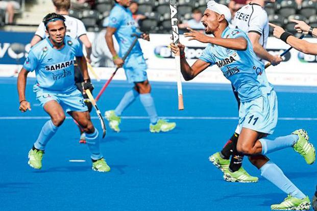 A file photo. This is India's third entry into the final of the Asian Champions Trophy, whose inaugural edition it won in 2011 and were runners up to Pakistan in 2012. Photo: Getty Images
