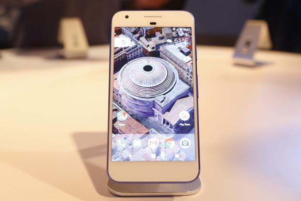 The Assistant is always at the ready on the Pixel phone and can be summoned by pressing the home button or saying the words 'OK Google.' Photo: Reuters