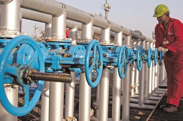 A file photo of an ONGC facility. Photo: Reuters
