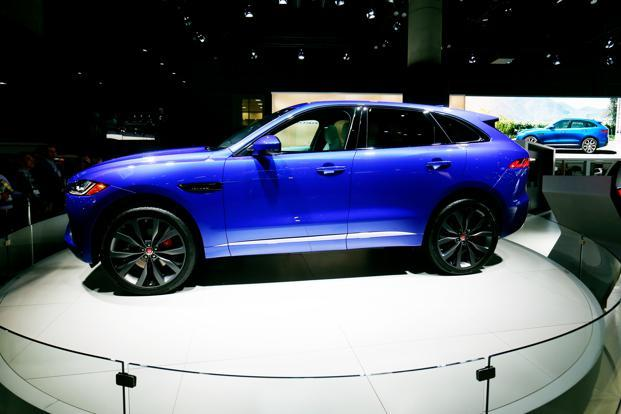 Beautiful The Jaguar F Pace At The Los Angeles Auto Show. Photo: Reuters