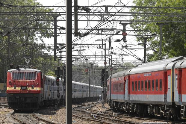 At present, only 42% of the total track network is electrified; this carries around two-thirds of the total freight traffic and 50% of the total passenger traffic. Photo: Mint