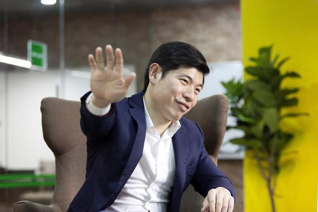 Anthony Tan, co-founder and chief executive officer of Grab. Photo:Bloomberg