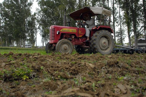 File photo. The largest impact of the favourable monsoon is seen in tractor sales. Photo: Ramesh Pathania/Mint