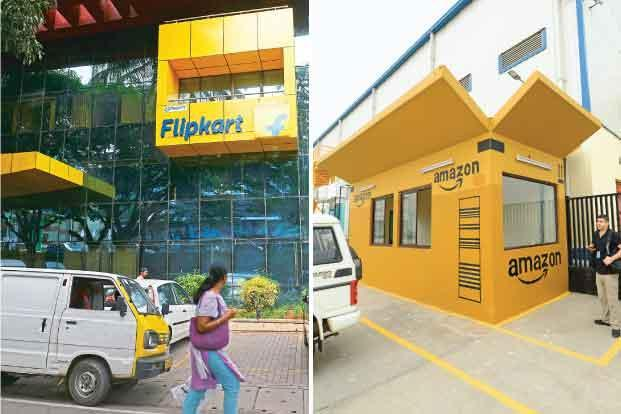 With the Diwali sale winding down, the obvious question everybody is asking is whether Amazon underestimated Flipkart in the first half of the festive sale. Photographs by Hemant Mishra & Ramesh Pathania/Mint