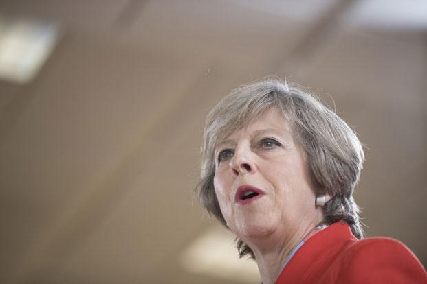 Unlike David Cameron's Britain, Theresa May's is one characterized by mounting anxiety and uncertainty about the future of Britain's place as a trading nation. Photo:  Bloomberg