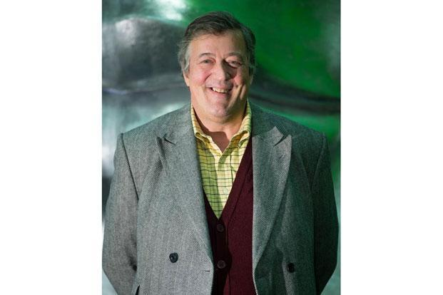 British actor-comedian Stephen Fry