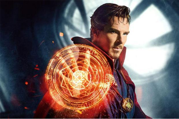 Benedict Cumberbatch in a still from 'Doctor Strange'