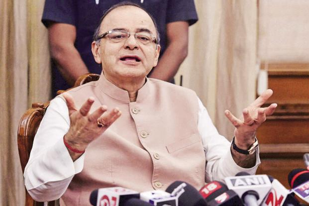 Finance minister Arun Jaitley. While the aim of multiple tax rates is to minimize the impact on inflation and government revenues, growth could take a hit in the near term. Photo: PTI