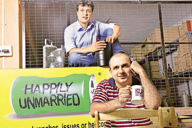 Happily Unmarried Marketing Pvt. Ltd runs the portal HappilyUnmarried.com and has the male grooming brand Ustraa. Photo: Hindustan Times