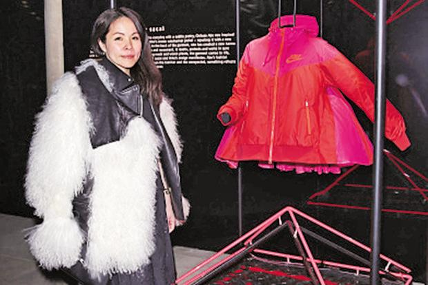 A March 2015 photo of designer Chitose Abe during the NikeLab x Sacai Launch in London. Photo: Getty Images