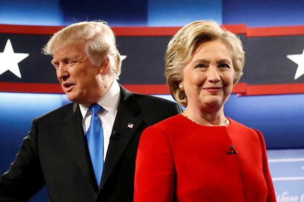Hillary Clinton and Donald Trump. This US presidential election, mutual hatred seems to be the one constant theme, and constructive debate on the issues, both inside America and within its large sphere of global influence, has been pushed to the fringes. Photo: Reuters