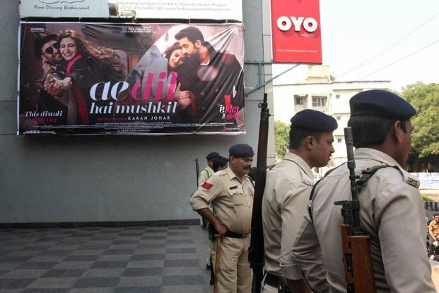 Ae Dil Hai Mushkil, which was initially opposed by Raj-Thackeray led Maharashtra Navnirman Sena,  had released on 28 October. Photo: PTI