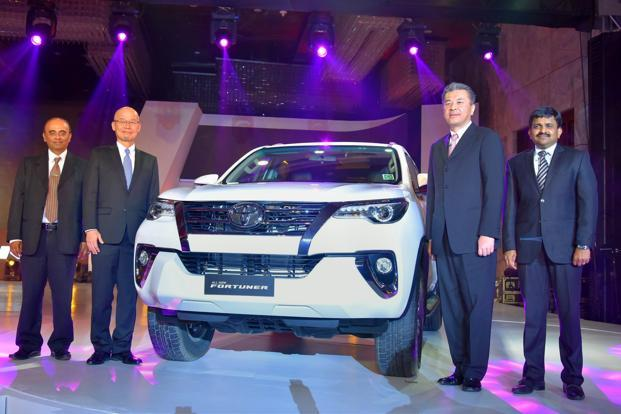 The SUV comes with a 2.7-litre petrol engine and 2.8-litre diesel engine. Only the diesel variant has a four-wheel drive option. Photo: PTI