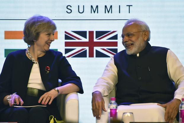 Image result for modi in britain