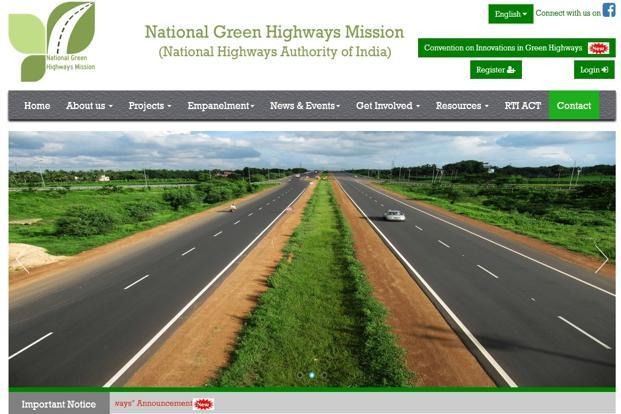 The government launched NGHM last year as part of its green highways policy.