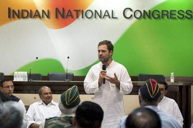 File photo. Rahul Gandhi took over as the Congress vice-president in January 2013. Photo: PTI