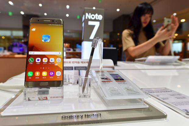 Samsung's recall and eventual cessation of the line is estimated to cost upwards of $6 billion and pushed profits at its mobile division to a record low in the September quarter. Photo: AFP