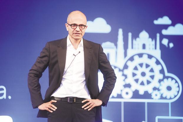 Satya Nadella has had the space to profoundly reshape Bill Gates's and Steve Ballmer's legacy, making decisions as embracing Open Source software, exiting Nokia. Photo: Ramesh Pathania/Mint
