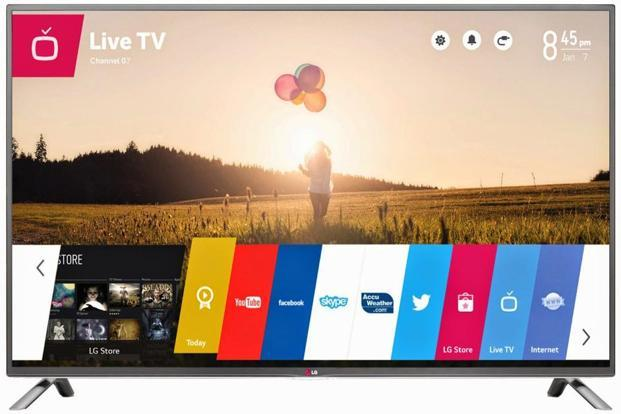 Smart TVs allow instant access to apps such as Netflix, YouTube, etc, and connect to the Internet through Wi-Fi.