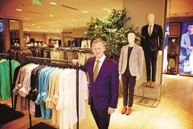 Newly appointed Marks and Spencer CEO Steve Rowe is taking immediate action to address the UK fashion retailer's struggles. Photo: Priyanka Parashar/ Mint