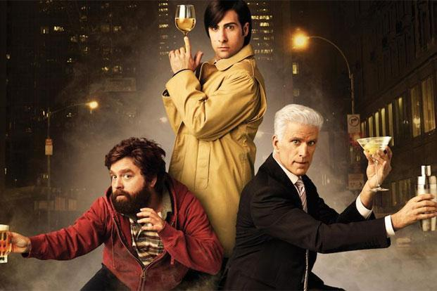Ted Danson (right) in a still from the HBO series 'Bored To Death'.