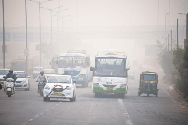 The NGT has also lashed out at states for non-implementation of its orders passed last year to control vehicular pollution. Photo: AFP