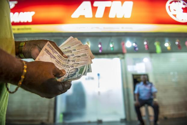 The government imposed strict cash withdrawal limits of Rs 2000 from ATMs. Photo: Aniruddha Chowdhury/ Mint