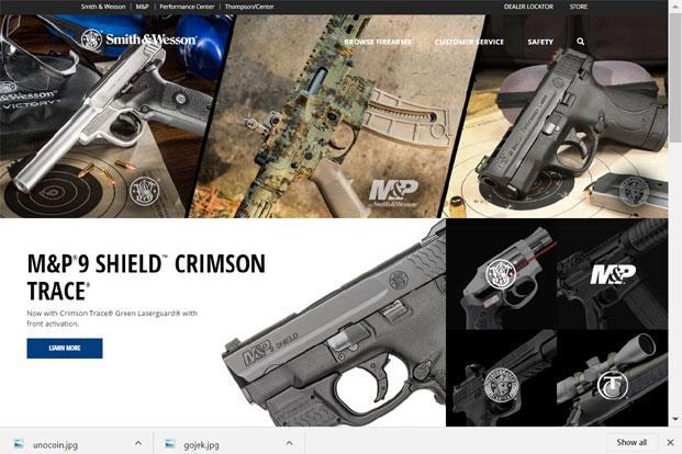 The firearms unit will continue to operate as Smith & Wesson Corp. and sell under that brand name, the company said.