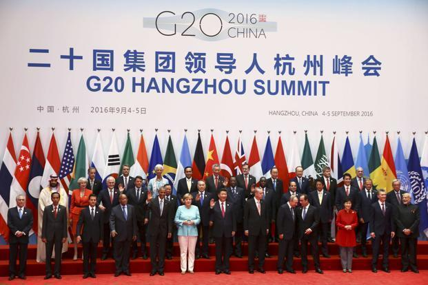 In the communiqué released after September's G-20 summit, the group's leaders mentioned steps to boost world growth through infrastructure investment, and argued for more coordination among monetary, fiscal, and structural policies. Photo: Reuters