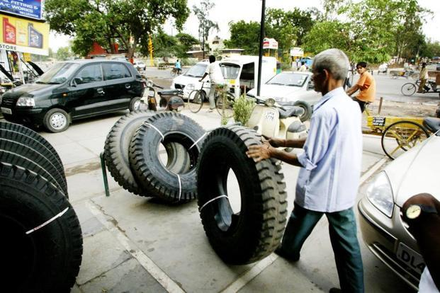Apollo Tyres had posted a net profit of Rs280.07 crore in the corresponding period a year ago, it said in a BSE filing. Photo: Bloomberg