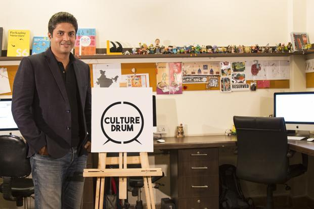 Hari Krishnan's Culturedrum is a small team of 15 people with diverse backgrounds in strategic planning, design, creative ideas and content.