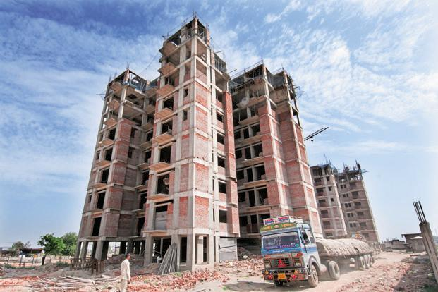 Apart from the regular residential and office projects, the new NBFC will also lend to projects in the logistics, hospitality and healthcare sectors. Photo: Ramesh Pathania/Mint