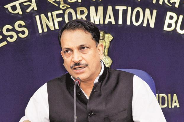 Skill development minister Rajiv Pratap Rudy. Photo: PIB