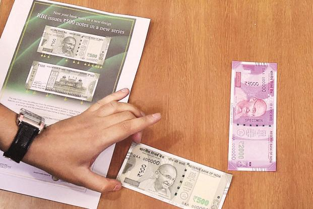 Till date, around 3.5 billion pieces of the new Rs2,000 note have been printed. Photo: PTI