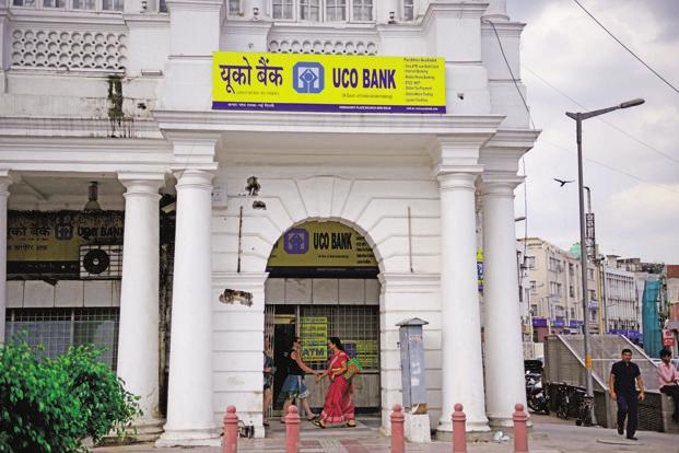 Uco Bank saw its provision increase by close to 40% to Rs1,488.34 crore for the September quarter. Photo: Pradeep Gaur/Mint