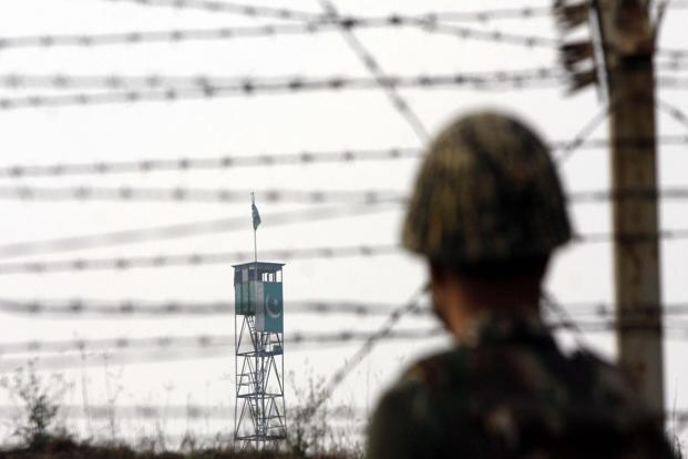India-Pakistan ties have been in free fall since July when Islamabad described Burhan Wani, a terrorist belonging to the Hizbul Mujahideen group who was shot dead by Indian security forces, as a 'martyr' and a 'Kashmiri leader'. Photo: Hindustan Times