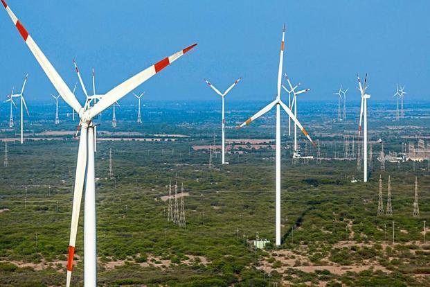 Suzlon reported earnings before interest, taxes, depreciation and amortization (EBITDA) of Rs586 crore for the second quarter. Photo: Bloomberg