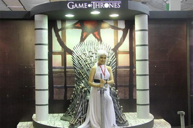 A cosplay for Games of Thrones