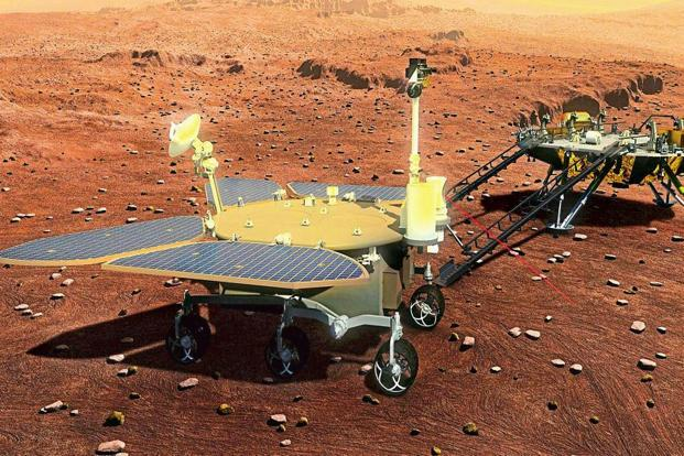 A concept photo of the rover China plans to launch in 2020. Photo: China Daily/Reuters