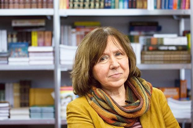 Nobel laureate Svetlana Alexievich. Photo: Reuters