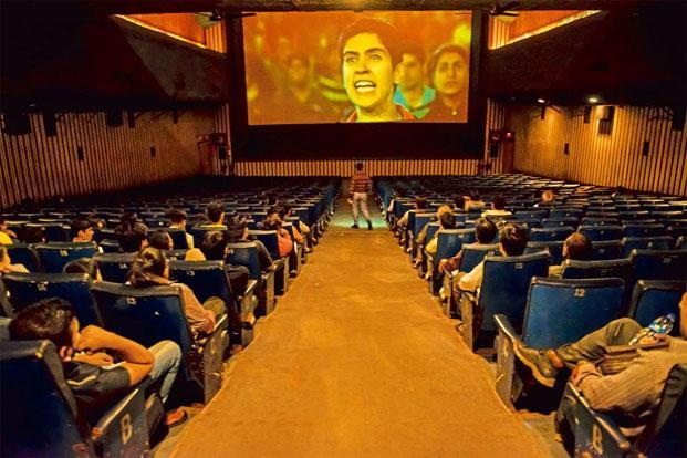 Audiences at a hall of the G7 multiplex in Mumbai. Photo: Aniruddha Chowdhury/Mint
